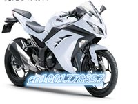 Wholesale ER f Ninja r Plastic Motorcycle Fairing Pearl White Matte Black