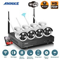 Wholesale ANNKE CH P HD NVR Wireless IP Network CCTV Home Security Camera System TB