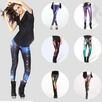 Wholesale In business digital D Starry sky sexy leggings The sky digital printing Leggings pencil pants jeans and leggings for girls