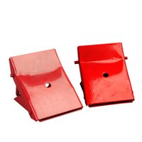 Wholesale car tyre anti back device tyre triangular Alloy steel cushion slope anti slip tyre anti back device