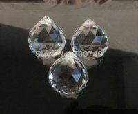 Wholesale FREE FEDEX DHL UPS FAST SHIPPING AAA Top Quality mm Clear Crystal Ball Prism Garland Wedding Pendant Suncatcher