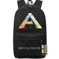 Wholesale Steam ARK backpack Stylish school bag Survival Evolved daypack Hot schoolbag New game play day pack