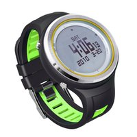 Wholesale Sunroad RF800BA Outdoor Sports Watch EL Backlit Digital Waterproof Watches Compass Pedometer Barometer Thermometer Altimeter