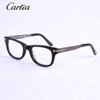 Wholesale brand designer Eyeglasses Optical Frames tf black glasses unisex eyeglasses Coolclassic fashion Eyewear A variety of colors glasses