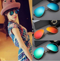 Sports alloy recycling - Hot Colourful Sports Sunglasses for Men Women brand designer recycling metal High quality