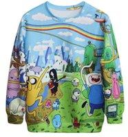 american football time - Jogging Femme Adventure Time Sweatshirts Harajuku Pullover Autumn Winter Tracksuit Women Men Sport G23