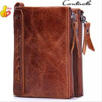 Wholesale Cowhide Leather Wallet Luxury Leather Wallet For Men High Quality Business Money Clip Wallet Card Holder Men Purse Out083