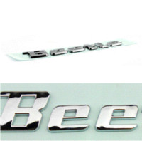 beetle body parts - New product auto spare parts car accessory New beetle logo beetle letter bagde beetle emblem chrome Decal sticker for VOLKSWAGEN