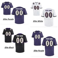 baltimore raven football - Custom Women Men Baltimore Raven Elite Football Jerseys High Quality Any Name Number You Decide Three Colors Allowed