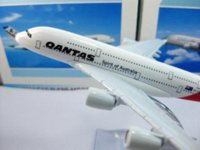 airbus prototype - new A380 Virgin Australia QANTAS cm metal airplane models airbus prototype machine model gyro model citi