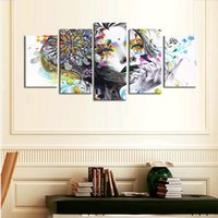 beautiful landscape paintings for sale - abstract beautiful girl canvas wall painting for hallway decor HD high quality pictures hot sale