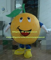 fresh orange mandarin - Fresh Orange Arancia Mandarin Tangerine Mandarino Mascot Costume Cartoon Character Mascotte Laughing Expression ZZ241 Free Ship