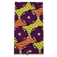 batik fabric painting - L New fashion pattern African painting super wax fabric hollandais real batik wax textile for party dress yards pc SL75_