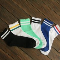 Wholesale 10 Striped cotton socks sports socks short paragraph Four Seasons can wear