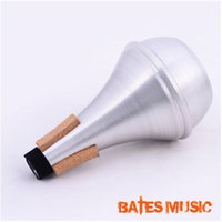 Wholesale High Quality Practice Trumpet Straight Mute White Brass For Trumpet mute