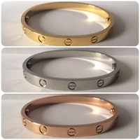 screw - 2016 NEW Fashion Infinity Style Screw Bangle Available in Gold Rose Gold Silver