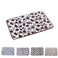 Wholesale New qualified Memory Foam Mat Bath Rug Shower Non slip Floor Carpet dec31