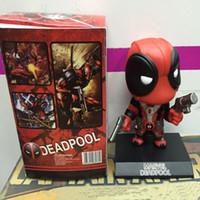 Wholesale Funko Pop X Men Deadpool Figure Cosplay Anime Action Figure Juguetes Model Hot Kids Toys cm