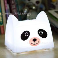 bears trades - Odd degree creative bear cartoon shape USB rechargeable pat light foreign trade gift lamp high quality nursing lamp