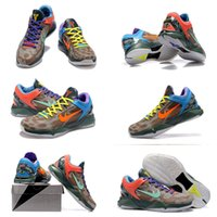 Men Flat Heel PVC (With shoes Box) Hot Sale Kobe 7 VII Kobe VII 7 what the WTK fade to black ftb prelude Men Shoes Free Shipping