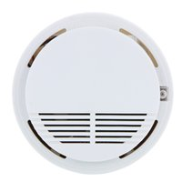 best sensitivity - Photoelectric Smoke fire Alarms System Sensor Fire Alarm Detached Wireless Detectors Home Security High Sensitivity warhouses device Best