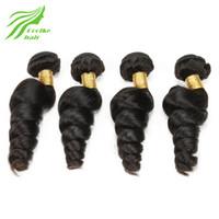 big attachments - Brazilian Human Hair Loose Wave Hair Big Curly Weave Human Hair Brazilian Weave Human Hair Bundles Soft Real Loose Curly Hair Weft