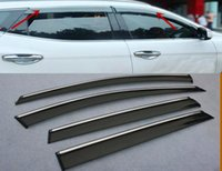 Wholesale For Hyundai Santa Fe UP Window Wind Deflector Visor Rain Sun Guard Vent new