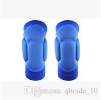 Wholesale 2015 Hot Two Pieces Knee pad Skiing Goalkeeper Soccer Football Volleyball Extreme Sports knee pads Cycling Knee Protector LJJC1684
