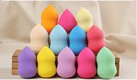 Wholesale DHL free Makeup Foundation Sponge Blender Blending Cosmetic Puff Flawless Powder Smooth Beauty Make Up Tools