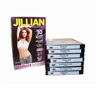 Wholesale 2016 New arrival JIllian Michaels ULTIMATE BOX SET DVDS Workout Fitness DVD Us Version Brand New DHL