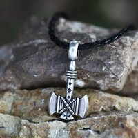 battle axes - Slavic Necklace Amulet Axes Gothic Retro Pagan Pendant Viking Axe Necklace Battle Axe Jewelry christmas gift for best friend