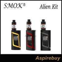 baby mode - SMOK Alien Kit Alien TC Box Mod with ML TFV8 Baby Tank TCR Mode Dual Battery Large Air Chamber with Four Alternate Coils Original