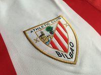 athletic bilbao jersey - la liga athletic bilbao embroidery patch home jersey athletic bilbao patch