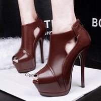 Cheap fish head high-heeled shoes Best thin heels high heels shoes