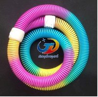 Wholesale New Colorful Soft Spring hula hoops Loose Weight Thin Waist Massage