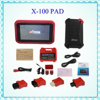 auto oil sale - Sale Promotion XTOOL X100 PAD X Auto Car Key Programmer With Oil Rest Tool And Odometer Adjustment X PAD DHL