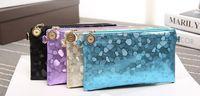 Wholesale Clutch Bag Stones - Women wallet stone pattern clutch trend casual shoulder Messenger Messenger wallet
