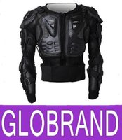 Wholesale NEW Motorcycle Full Body Armor Jacket Motocross Protector Spine Chest Protection Gear M L XL XXL GLO482
