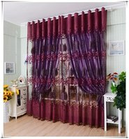 bedroom window covering - 2015 Famous Brand New Leaf Hollow Window Screens Door Balcony Curtain Panel Sheer Cover curtains for living room Bedroom cortina