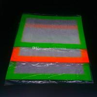 Wholesale OEM Non stick Silicone Wax Mats mm inch BHO Wax Dab Pad Wax Mat