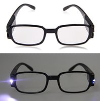 Wholesale 1 Multi Strength Men Women Reading Glasses Dual Led Lights Eyeglass Spectacle Diopter Magnifier Light UP east