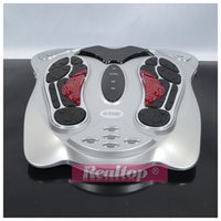Wholesale Great selling professional infrared foot massager improve blood circulation foot SPA health care home use foot detox machine