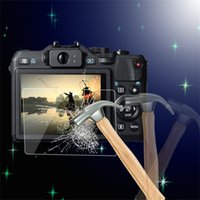 Wholesale 0 mm Camera Tempered Glass LCD Screen Panel Film Protector HD Guard Waterproof Cover For Canon G15 Sx600 G16 Sx700