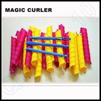 big roller set - 55 cm Magic Hair Curler Extra Long Super Big Magic volume Ringlets Stretched Circle hair rollers per set OOA228