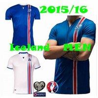 Wholesale eurocup island Island Iceland Jerseys home away national team soccer jerseys survetement foot maillot football