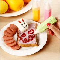 Wholesale 3pieces DIY Decoration Pen New Kitchen Use Cookies Biscuit Cake Cooking Mold Gourmet Drawing Pens Set