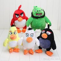 angry of birds - The new D film version of Angry Bird plush doll children s toys gift toys animation neighboring Television toy