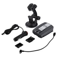 Wholesale New E6 Car Radar Detector GPS LED Display High Sensor Black