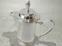 Wholesale High quality stainless steel silver plated gold plated ml milk pot coffee pot tea pot