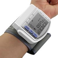 automatic blood pressure monitor sale - New Sale Digital wrist bp Blood Pressure Monitors meters tonometer sphygmomanometer cuff automatic health care monitors